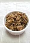 ☆簡単・美味しい♪高菜と挽肉のふりかけ☆