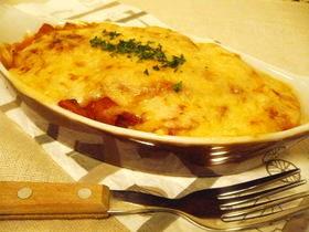 ♪我が家のチーズ焼きスープイタスパ♪