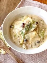 タピオカ粉で簡単!白菜の豆乳クリーム煮の写真