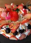 5歳児☆盛りつけ☆ケーキ