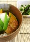 鰆とホタテの蒲焼丼(健康食)
