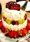 マックイーンのクリスマスケーキ