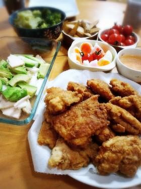 クィーンクック☆鶏ハムアボカド山いも