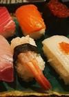 お刺身でお寿司