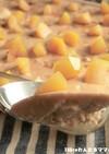 レンジで簡単★黒糖スコップチーズケーキ