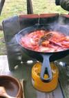 【キャンプ飯】残り野菜でラタトゥイユ風!