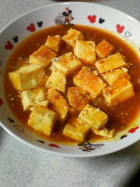 超簡単!ミートソースdeマーボー豆腐?♪