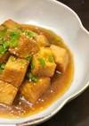 海苔の佃煮で♪磯の香りの揚げ出し豆腐