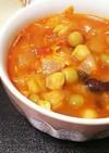 辛いサラダチキンで簡単チリビーンズスープ