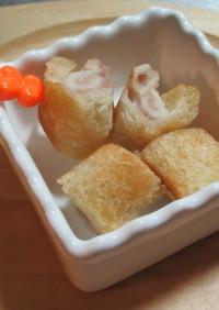 ジャムチーズin焼ロールサンド