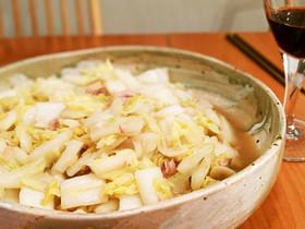 大量白菜はツナとアンチョビで炒めて食う!