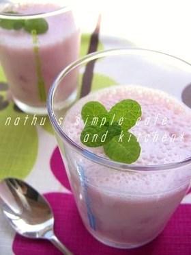*簡単*苺ミルクのヨーグルトプリン