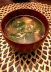 サニーレタスの卵スープ