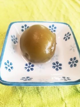 炊飯器で。梅酒の梅の甘露煮