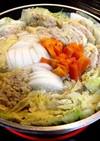 白菜と豚ミンチの簡単ミルフィーユ鍋