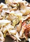 簡単味しみ☆白菜と竹輪のポン酢煮