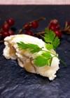 マスカルポーネと2種類の食感のリンゴ