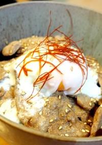 楽したい日の!すき焼きのタレ豚丼♪