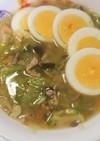 生姜と練りゴマのスープ