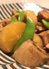 鶏肉と大根と蓮根の煮物