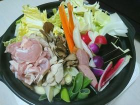 まるごと♥根野菜のトマトスープ鍋