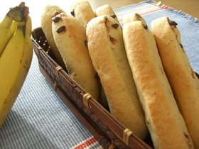 チョコバナナスティックパン