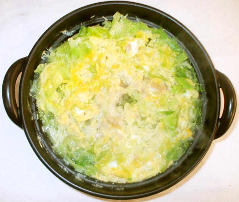 卵キャベツスープ♪簡単具沢山胃に優しい