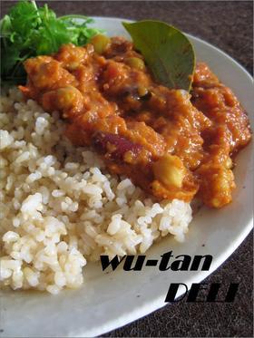 オリエンタル豆カレー