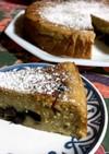 黒豆とおから のチーズケーキ