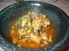 鱈の韓国風煮付け