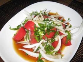 トマト美味サラダ!