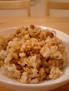 ❤納豆チャーハン❤