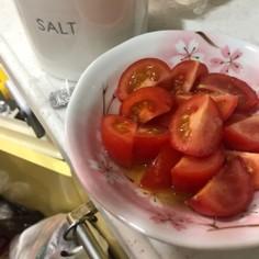 簡単トマトのサラダ
