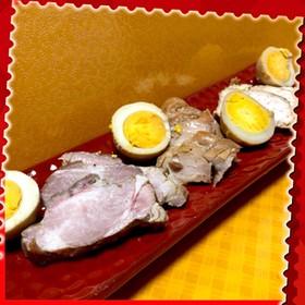 炊飯器を使って煮豚と煮鶏(モモとムネ肉)