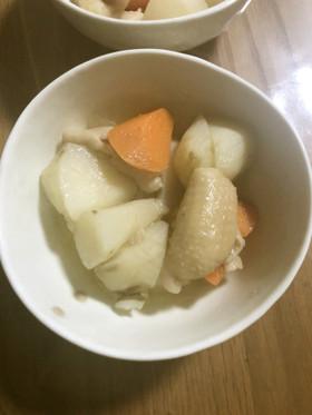 菊芋と鶏皮の煮物