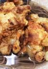 お正月の野菜の皮でかき揚げ