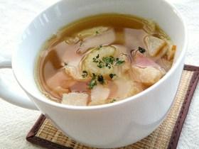 ランチにもう一品☆セロリのスープ