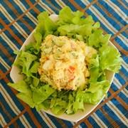 野菜は同時に⭐レンチン簡単♪ポテトサラダの写真