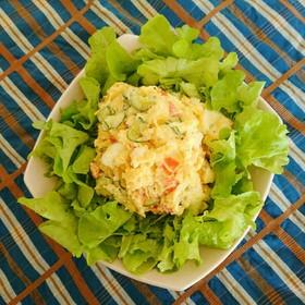 野菜は同時に⭐レンチン簡単♪ポテトサラダ