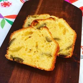梅酒の梅の実パウンドケーキ