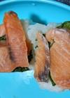 トラウトサーモンの押し寿司