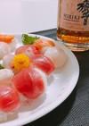 【30秒】ラップ1枚で簡単手毬寿司