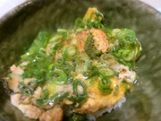 牡蛎(かき)玉丼 早くておいしい!の写真