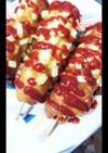 韓国ホットドッグ★チーズポテトドッグ