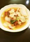 余った白菜とベーコンDE具だくさんスープ
