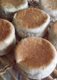 ☆平焼き くるみ&チーズパン☆