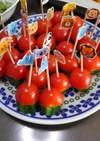 きゅうりとプチトマトのピック