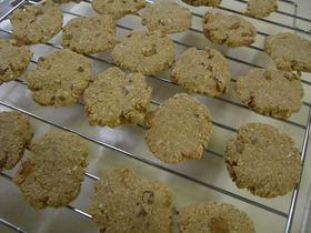 ビバ食物繊維☆干し芋きなこおからクッキー