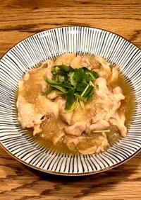 簡単10分☆豚肉のおろし煮