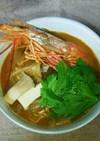 トムヤムクンスープの具材(市販スープで)